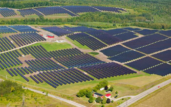 MW Scale Solar farms